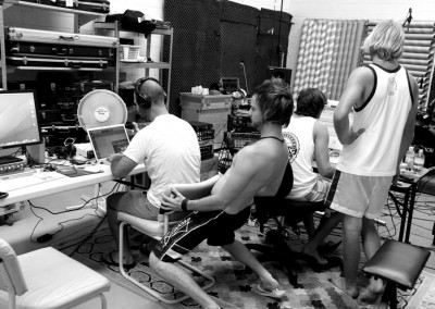 Recording 'Stratosphere' @ The Factory 2010