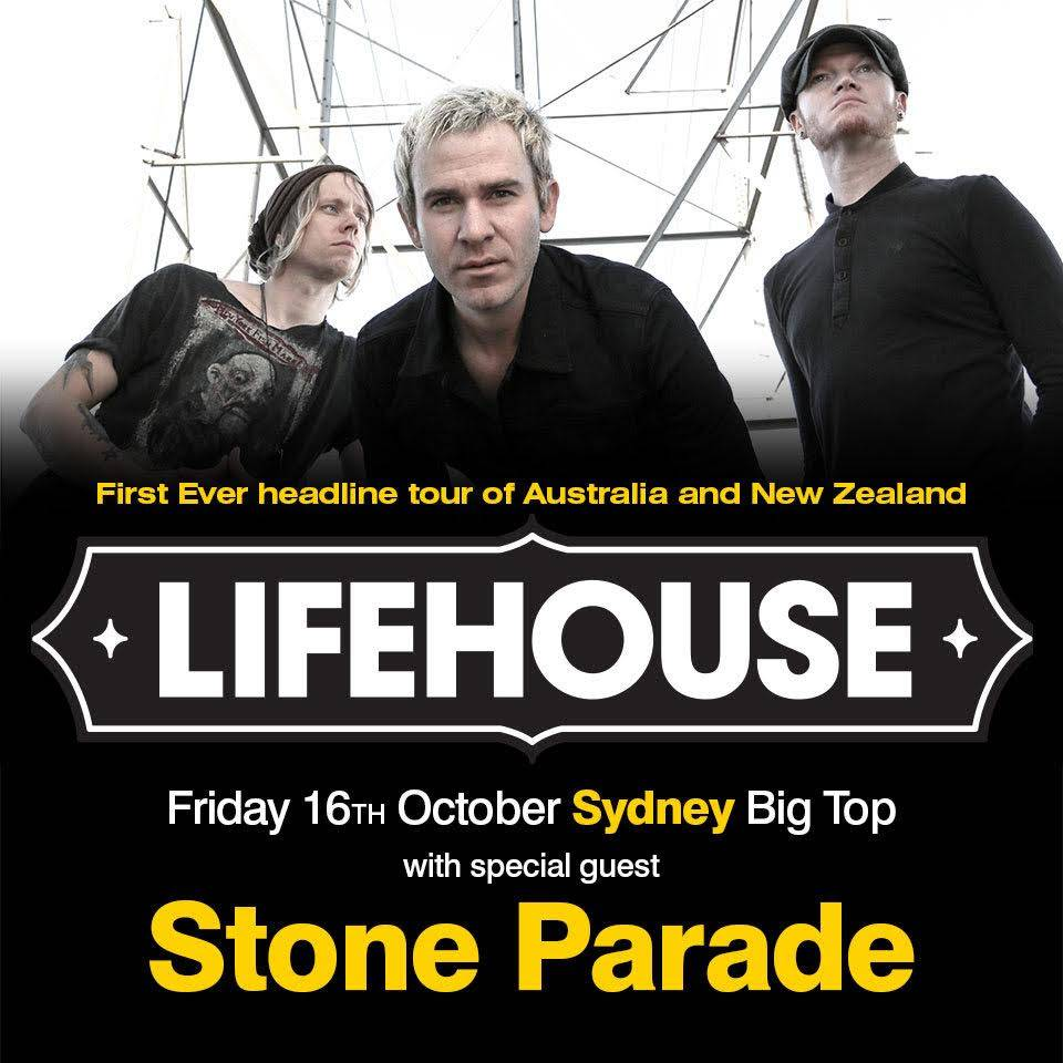 Stone Parade and Lifehouse at Luna Park
